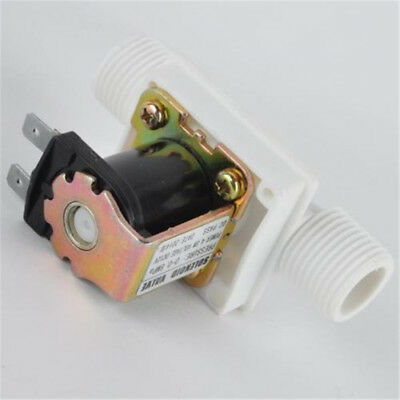 "1/2"" N/C Magnetic Electric Solenoid Valve Water Air Inlet Flow Switch DC 12V"