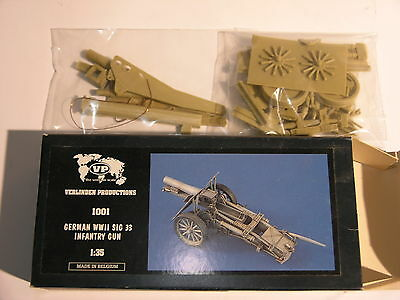 1/35 Verlinden German WWII SIG.33 infantry gun  RESIN kit    SUPER MEGA RARE