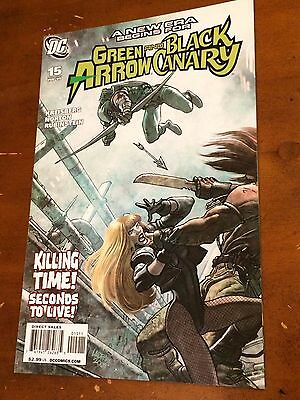 GREEN ARROW AND & BLACK CANARY #15 (2009) NM- 1st Appearance of CUPID! TV