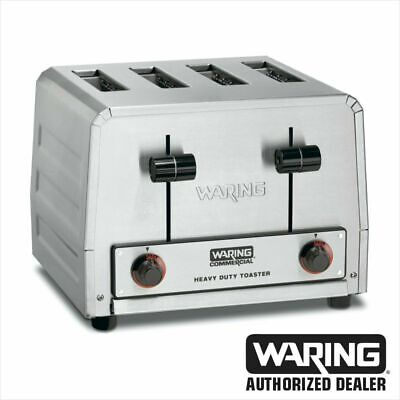 Waring WCT805 Commercial Heavy Duty 4 Slot Toaster 240V 1 YEAR WARRANTY