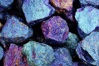"Chalcopyrite 1 1/2"" 3-5 Oz Raw Healing Crystals and Stones Crown Chakra Gemstone"