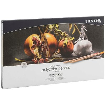 Lyra Rembrandt Polycolor Artists Coloured Pencils - Tin Set of 36