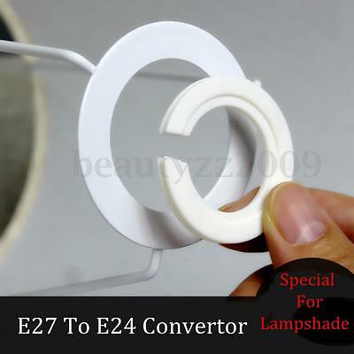 For E27 To E14 Lampshade Lamp Light Shades Socket Reducing Ring Adapter Washer