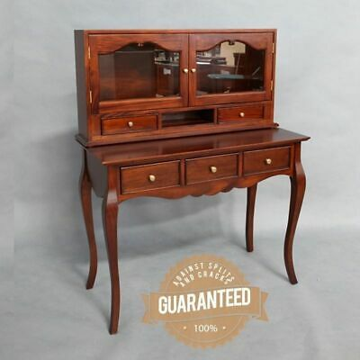 mahogany wood medium desk table home office antique french provincial design antique mahogany large home office unit