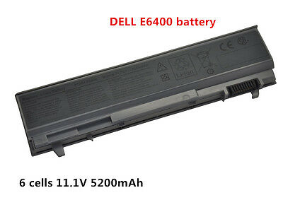 6 Cell Laptop Battery For Dell Latitude E6400 E6410 E6500 E6510 PT434 MP303 New