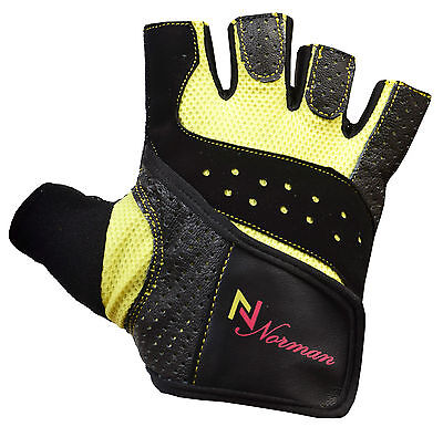 Ladies/Men Gel Gloves Fitness Gym Wear Weight Lifting Workout Training Cycling