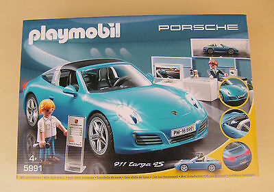 3911 5991 playmobil 2x porsche carrera 911 neu ovp eur. Black Bedroom Furniture Sets. Home Design Ideas