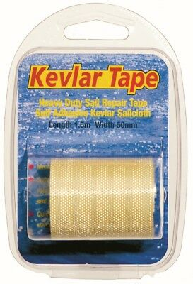 Yachticon Kevlar Tape Segel & Segeltuch Reparatur Band Klebeband 1,5m x 50mm