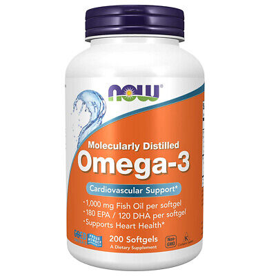Now Foods Omega-3 200 Perle