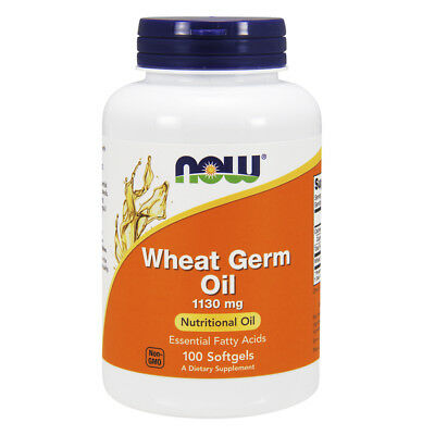 Now Foods Wheat Germ Oil 100 Cps
