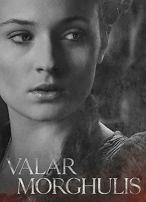 TYWIN LANNISTER  Poster Game Of Thrones Valar Morghulis drama TV series #26