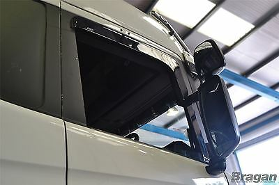 Scania R / P / G / 6 Series Side Window Wind / Rain Deflectors Shield Truck