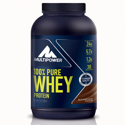 MULTIPOWER 100% PURE WHEY PROTEIN 900 GR Cioccolato