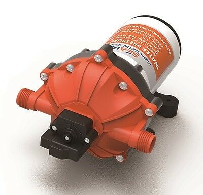 Seaflo 12v 5.0 GPM Marine Water Boat Pump 20L/min 60Psi 4 Year Warranty