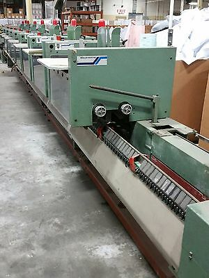 Muller Martini 335 7 Pocket Stitcher (ALI#104023)