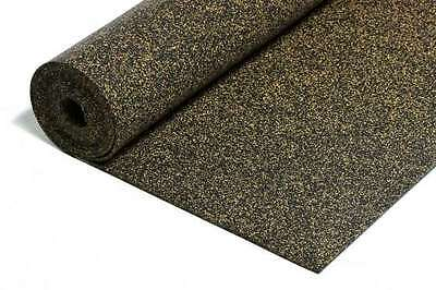 Rubberised Cork 2mm strong 30 m² Impact sound insulation cork Granulate rubber