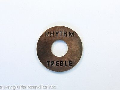 Copper Age Rhythm Treble Plate Unterleg Platte für Toggle Switch