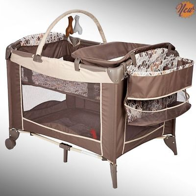 Baby Safety Newborn Bassinet Folding Cradle Crib Infant Play Toy Mini Nursery