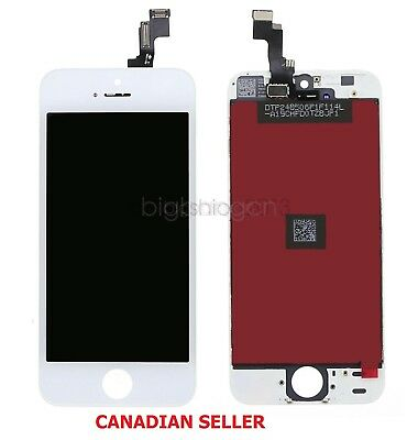 For iPhone 5C Complete LCD Touch Screen & Digitizer Replacement White in Canada