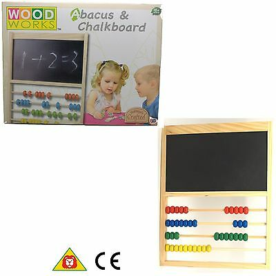 Wooden Bead Abacus Educational Childrens Toy New play game learning  Gift