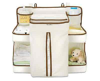 Munchkin Nappy Organiser Baby Wipes Clothes Dispenser Cot Change Table Dresser