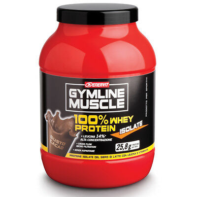 ENERVIT GYMLINE 100% WHEY PROTEIN ISOLATE 700 GR Cacao