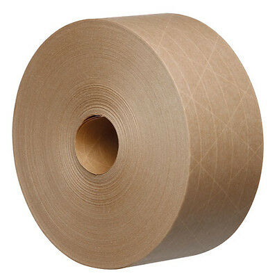 Tegrabond 48mm x 100m Brown Water Activated Reinforced Packing Tape 24 Rolls