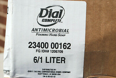 Dial Complete #00162 Antimicrobial Foaming Hand Soap Refills (Asst'd Qty) #S6036