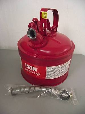 Lyon NF5488 3 Gallon Safety Can w/2 Openings