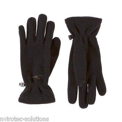 Berghaus Womens Spectrum Warm Fleece Gloves Black Large Only £9.99 Ladies