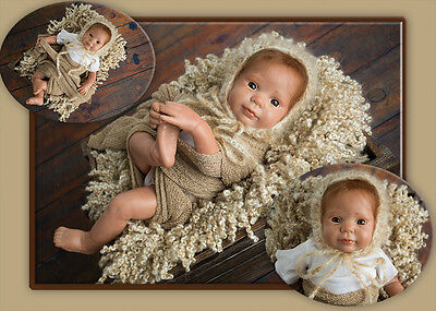 PrE PaiNtEd AnD RoOtEd BLaZe DOLL KIT WiTh ExTrAs DOLL KIT ONLY ~ REBORN SUPPLIE