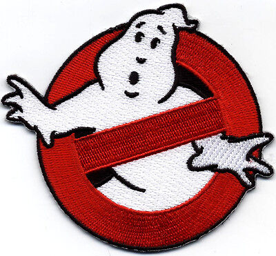 Ghostbusters Patch Iron On Cazafantazmas Parche Bordado Termoadhesivo