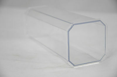 Rigid Transparent Candle Moulds - 3 to choose from - 140mm