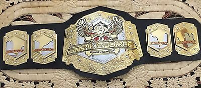 MMA UFC Rare Hand Made strikeforce championship replica belt size 51 Length