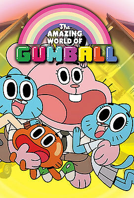 A3/A4 Size - GUMBALL THE AMAZING WORLD OF  ART PRINT  POSTER  # 5