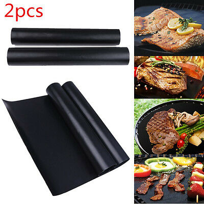 2pcs Durable Teflon Oven Cooker Liner Non Stick Heavy Duty Lining 40 x 35 cm