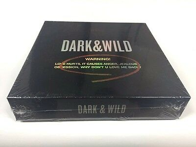 BTS  VOL.1- DARK&WILD CD+BOOKELET100p +photocard + BANGTAN BOYS