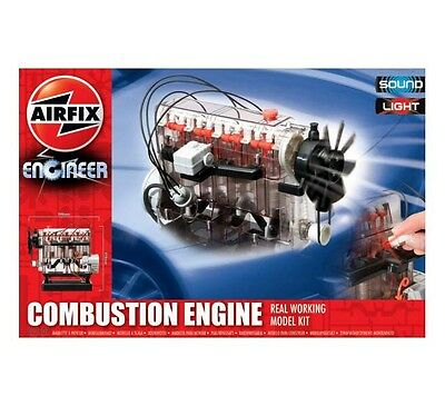 Airfix Kit Plastica Combustion Engine Real Working Con Suoni E Luci Art 42509