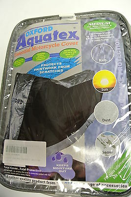 Oxford Aquatex Medium Motorcycle / Scooter Cover