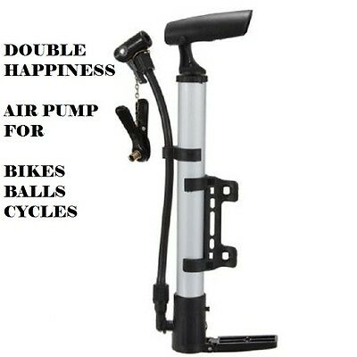 Air pump for Bikes and Balls Tyre  Inflator Bicycle Mountain Bike Cycle
