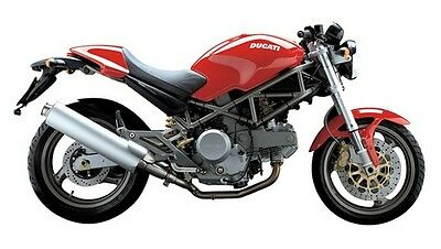 Manuale Officina Ducati Monster 400 620 2004 Workshop Manual Service