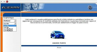 Manuale Officina Fiat Grande Punto Workshop Manual Service Software