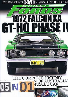 Street Fords 1972 Ford FALCON XA GT-HO Phase IV History & Restoration MUSCLE CAR