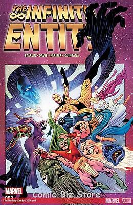 Infinity Entity #3 (Of 4) (2016) 1St Printing Bagged & Boarded