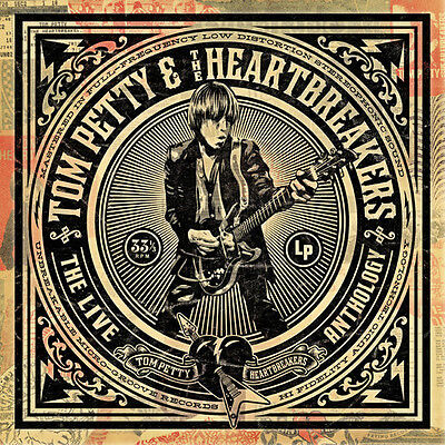 Live Anthology - 4 DISC SET - Tom & The Heartbreakers Petty (2009, CD NUOVO)