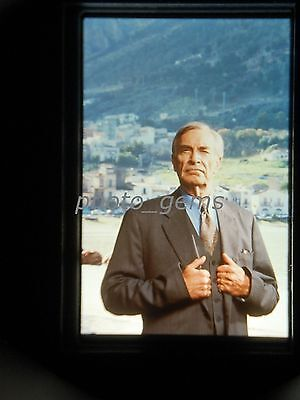 Martin Landau Bonanno A Godfather's Story Original 35mm Color Promo Slide