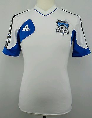 Adidas 2011 MLS San Jose Earthquakes Soccer Jersey Size Adult Small S