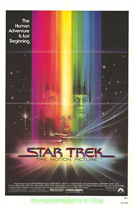 STAR TREK THE MOTION PICTURE MOVIE POSTER Original 27x41 Folded One Sheet 1979