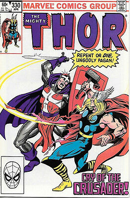The Mighty Thor Comic Book #330, Marvel Comics 1983 NEAR MINT