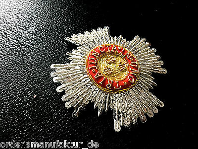 Großbritannien Order of the Bath Commander (ziv.) gestickter Bruststern Replik